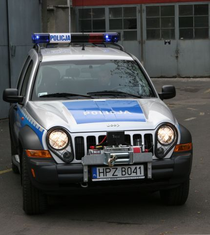 Jeep Cherokee Sport dla Policji