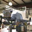 Jeep CJ-7 warsztat